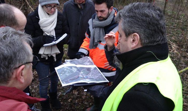 Moulins-lès-Metz : réunion de chantier